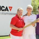 Charity Abseil with Olympic Torch